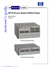 HP ProCurve 5308xl Reviewer's Manual