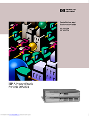 HP J3175A Installation And Reference Manual