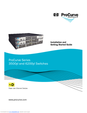 HP ProCurve 3500yl Series Installation And Getting Started Manual