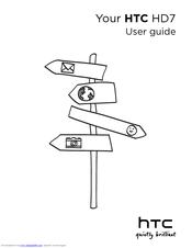 htc hd7 user manual pdf download rh manualslib com HTC HD7 Windows Phone 7 HTC HD7 Windows Phone