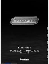hughes kettner statesman dual el84 manual pdf download rh manualslib com