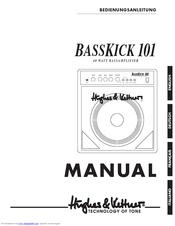 Hughes & Kettner 140 WATT BASSAMPLIFIER Bass Kick 101 Owner's Manual