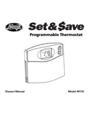 hunter 44110 owner s manual pdf download rh manualslib com Hunter Indiglo 44550 Thermostat Manual Hunter Thermostat Manual Model 42204