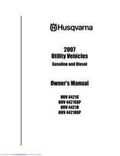 Husqvarna 2007 HUV4421D Owner's Manual