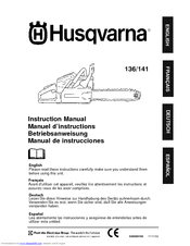 Husqvarna 141 Instruction Manual