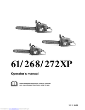 Husqvarna 272XP Operator's Manual