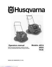 husqvarna tr430 manual
