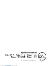 husqvarna rider 16 awd manuals rh manualslib com Husqvarna Rider 16 Parts Diagram husqvarna rider 16 awd workshop manual