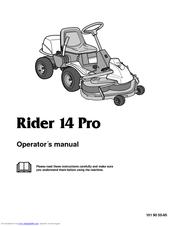 husqvarna rider 14 pro manuals rh manualslib com Husqvarna Rider 16 Review husqvarna rider 16 awd workshop manual