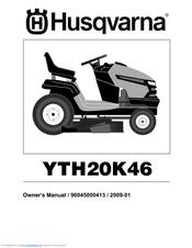 Husqvarna husqvarna yth20k46 manuals.