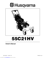 Husqvarna 55c21hv Manuals