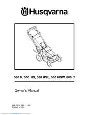 Husqvarna 580 RS Manuals