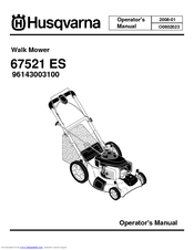 husqvarna 67521 es manuals rh manualslib com Husqvarna 6021P Engine Oil Husqvarna 6021P Grass Catcher Parts