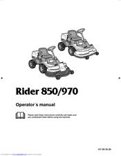 husqvarna rider 970 manuals rh manualslib com Husqvarna Saws Service Manual Husqvarna Saws Service Manual