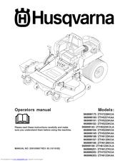 husqvarna z4822 manual