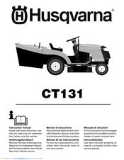 Husqvarna ct151 manuals.