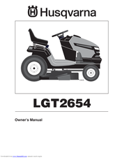 Husqvarna LGT2654 Owner's Manual