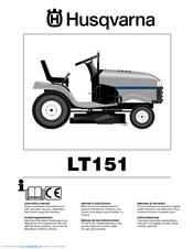 husqvarna lt151 manual