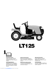 husqvarna lt125 manuals rh manualslib com Husqvarna Lawn Tractor Bagger Parts Husqvarna Lawn Tractor Bagger Parts
