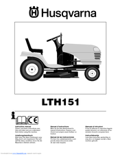 Husqvarna LTH151 Instruction Manual