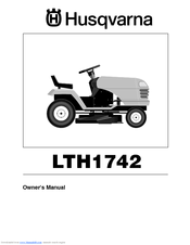 husqvarna lth1742 manuals rh manualslib com Husqvarna Mower Schematics Husqvarna Chainsaw 455 Rancher Manual