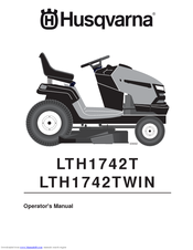 husqvarna lth1742t manuals rh manualslib com Husqvarna Mowers Manuals Owner Husqvarna Chainsaw Manual