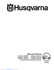 HUSQVARNA PZ5426 FX / 966060901 OPERATOR'S MANUAL Pdf Download