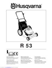 husqvarna r53sv manual