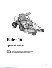 husqvarna rider 16 manuals rh manualslib com Husqvarna Rider Parts Husqvarna Rider Parts