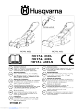 Husqvarna Royal 43ELS Operator's Manual