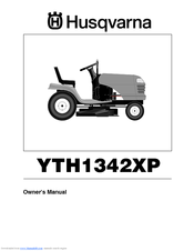 Husqvarna YTH1342XP Owner's Manual