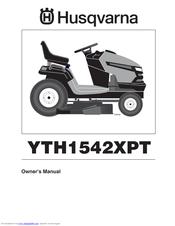 HUSQVARNA YTH1542XPT OWNER'S MANUAL Pdf Download. on