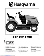 Husqvarna YTH150 TWIN Manuals on