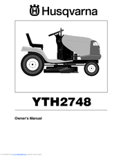 husqvarna yth1848xp manuals rh manualslib com Husqvarna 48 Inch Mower Husqvarna Snow Blower Attachment