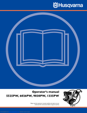 Husqvarna 6026PW Operator's Manual