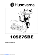 Husqvarna 10527 SBE Owner's Manual