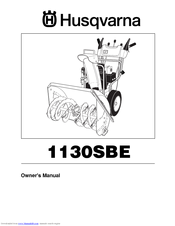 Husqvarna 1130 SBE OV Owner's Manual