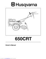 husqvarna 650crt owner s manual pdf download
