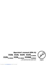 Husqvarna 325C Operator's Manual