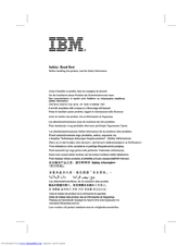 IBM 31P6259 User Manual