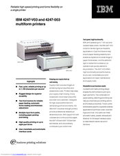 ibm 4247 v03 manuals rh manualslib com IBM Printer 6262 IBM High Speed Printer