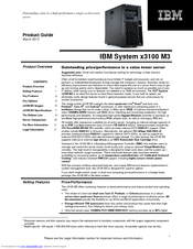 ibm system x3100 m3 manuals rh manualslib com ibm system x3400 manual ibm system management facilities