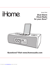ihome zn90 manuals rh manualslib com Quick Reference Guide User Manual