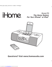 ihome ip9 manual user manual guide u2022 rh fashionfilter co ihome ip9 dual alarm clock radio manual ihome clock radio manual ip90
