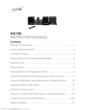 ilive ih818b manuals rh manualslib com Instruction Manual Example New Balance Manuals