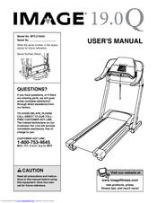 image 19 0q treadmill manuals rh manualslib com Self-Propelled Treadmill Manual Treadmills for Seniors
