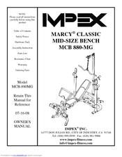 impex marcy classic mcb 880