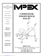 Impex Wm 357 Manuals