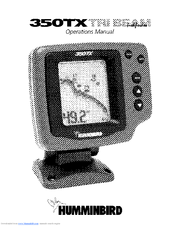 HUMMINBIRD 350TX 350TX OPERATION MANUAL Pdf Download