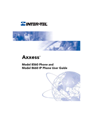 Inter-Tel AXXESS 8560 User Manual
